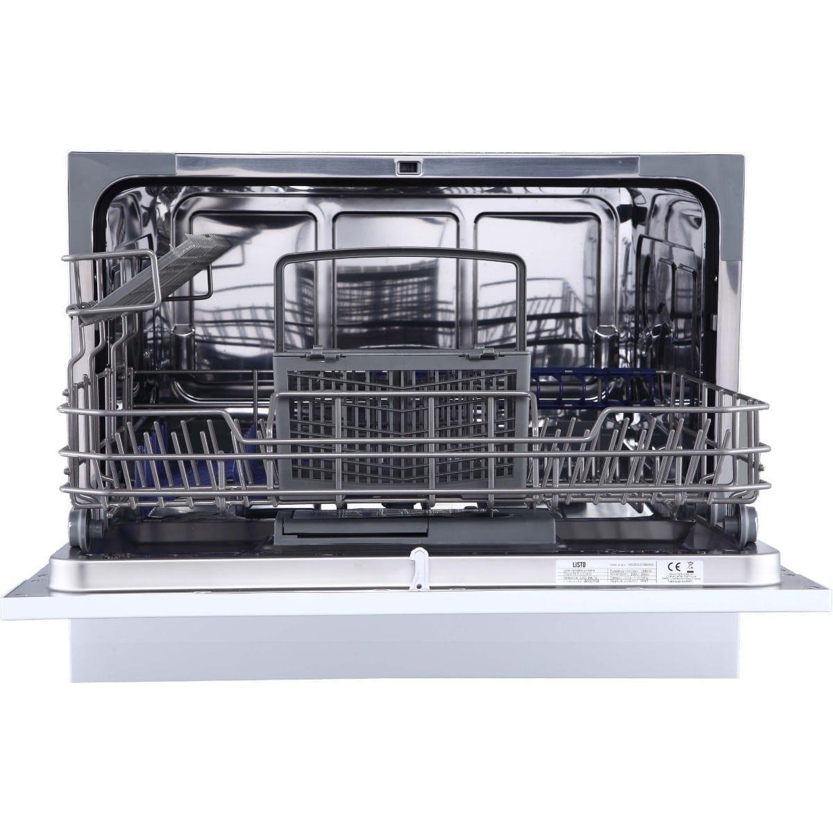 mini lave vaisselle 55 cm listo 49 l1b 6 couverts reconditionn back market. Black Bedroom Furniture Sets. Home Design Ideas
