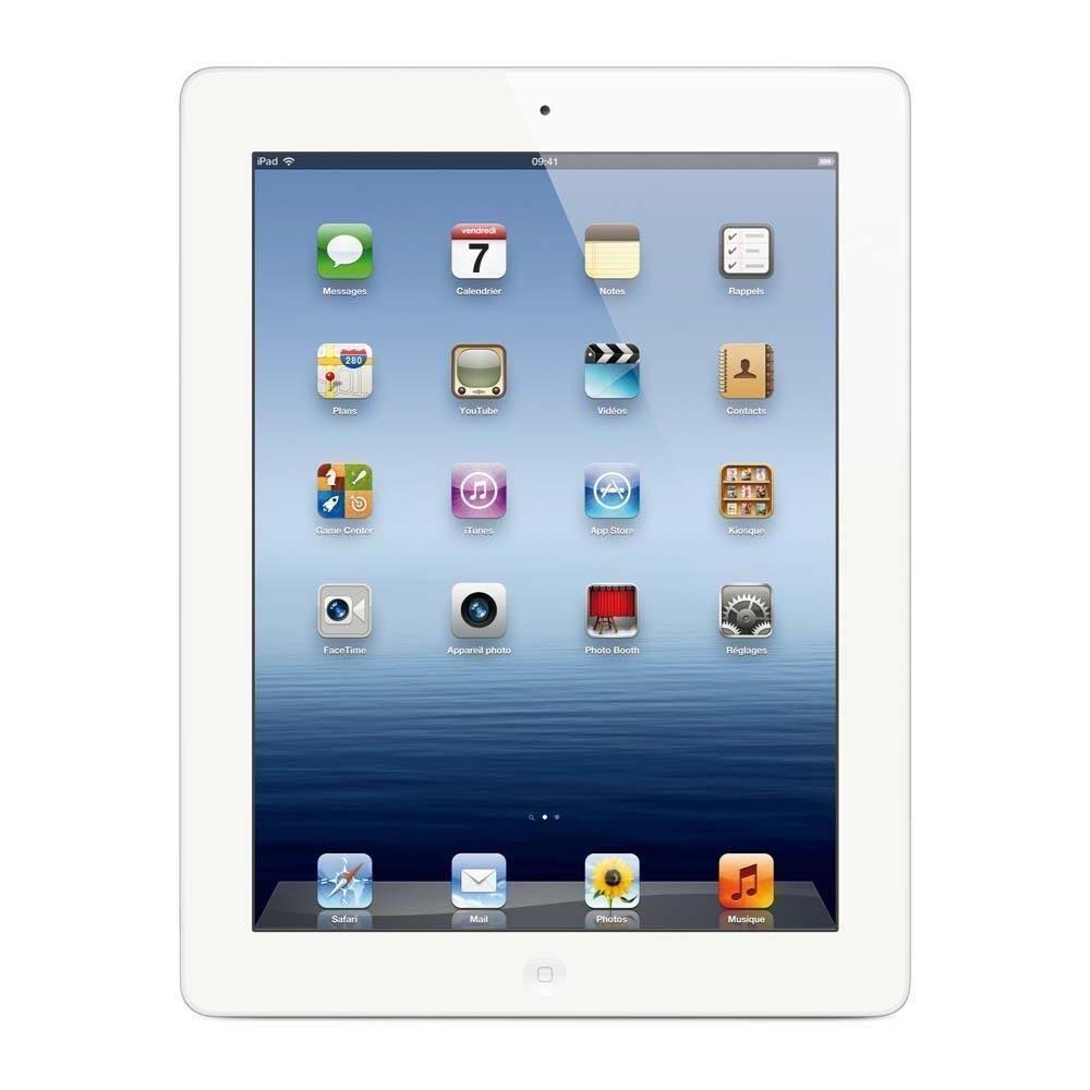 iPad 3 64 Go - Wifi + 4G - Blanc - Débloqué