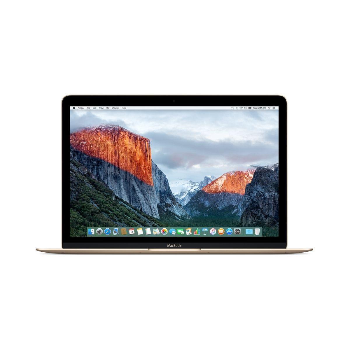 """MacBook 12"""" Core M 1,1 GHz  - SSD 256 Go - RAM 8 Go reconditionné"""