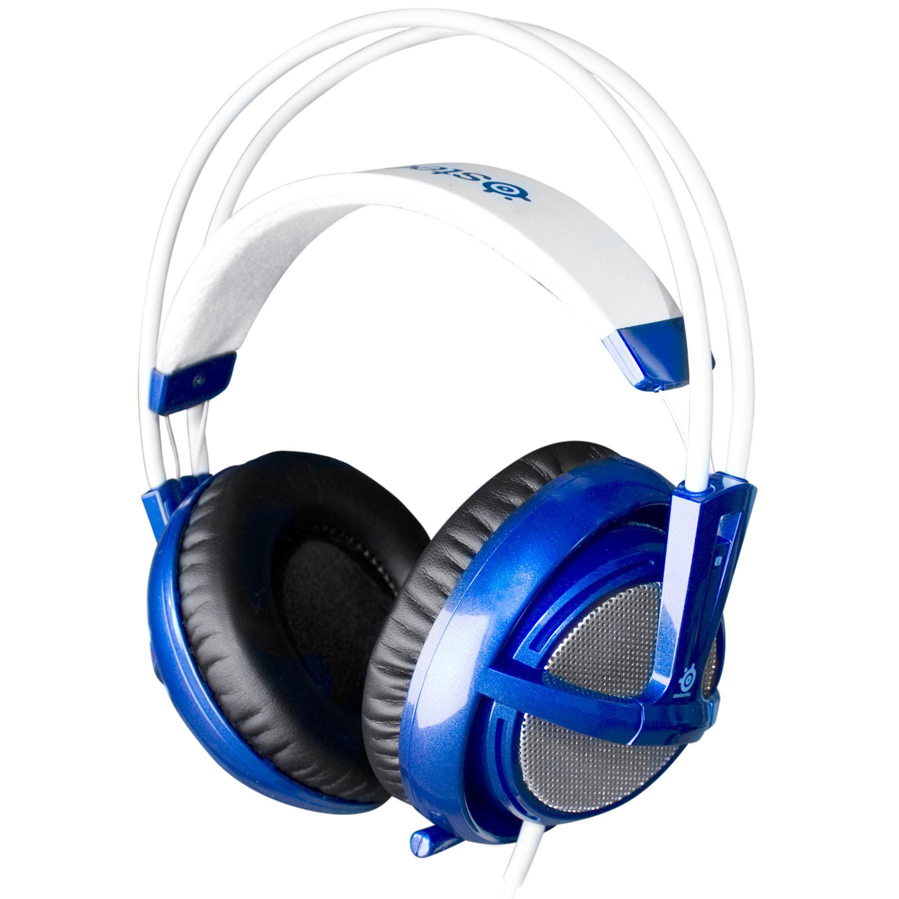 casque steelseries siberia v2 bleu reconditionn back market. Black Bedroom Furniture Sets. Home Design Ideas
