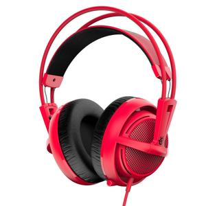 Casque Gaming avec Micro Steelseries Siberia 200 - Rouge