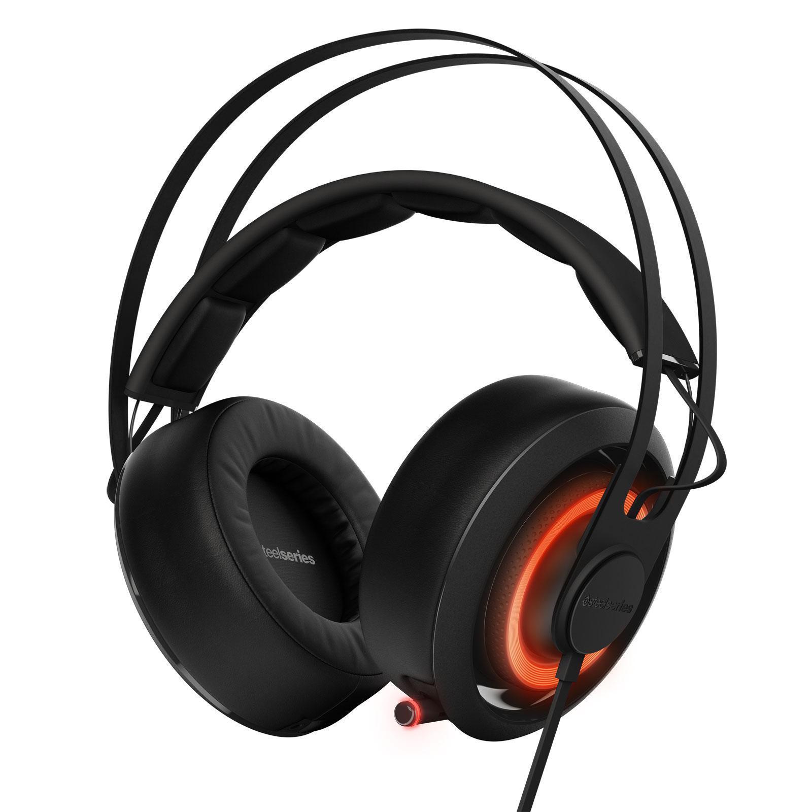 Steelseries Siberia 650 Gaming Ακουστικά Μικρόφωνο - Μαύρο