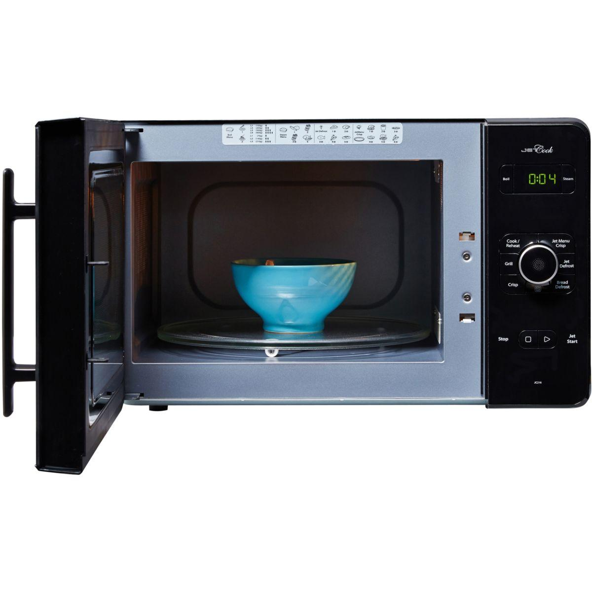 micro-ondes grill whirlpool jc216nb - 30l reconditionné | back market