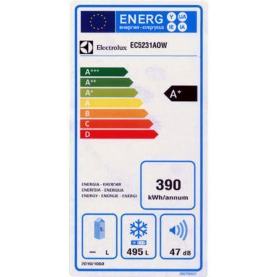 Congélateur coffre ELECTROLUX EC5231AOW