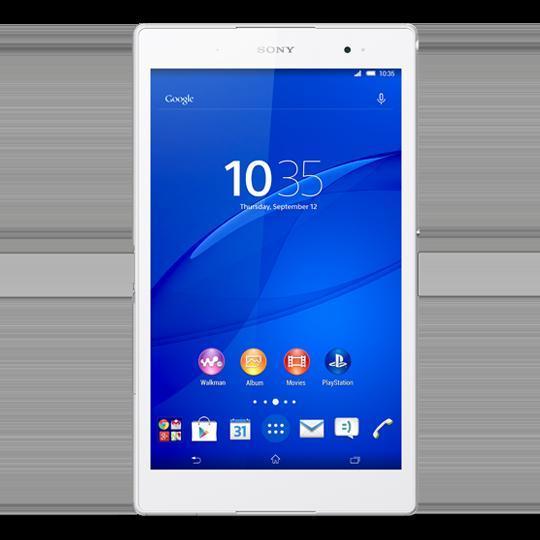 "Sony Xperia Z3 Tablet Compact - 1"" 16 Go -  - Blanc"