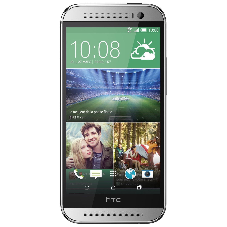 HTC One M8 32 GB - Silber - Ohne Vertrag