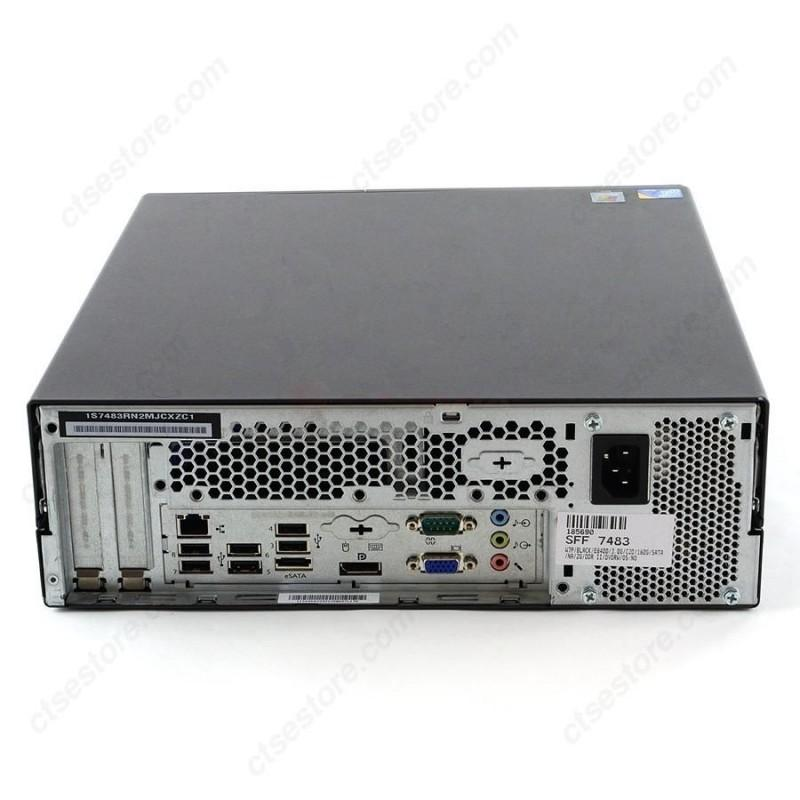 Lenovo THINKCENTRE M58 C2D  CORE 2 DUO E7500  GHz  - HDD 250 Go - RAM 4 Go