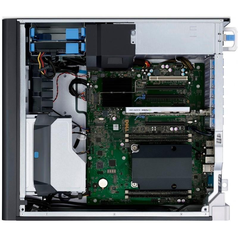 Dell PRECISION T3600  E5 1620  GHz  - 756 Go HDD + SSD - RAM 16 Go