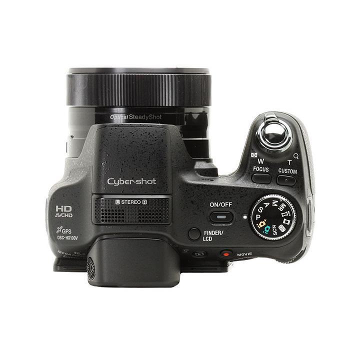 Appareil Photo Bridge - Sony HX100V - Noir + Objectif Carl Zeiss Vario Sonnar 2,8-5,6 /4,8-144