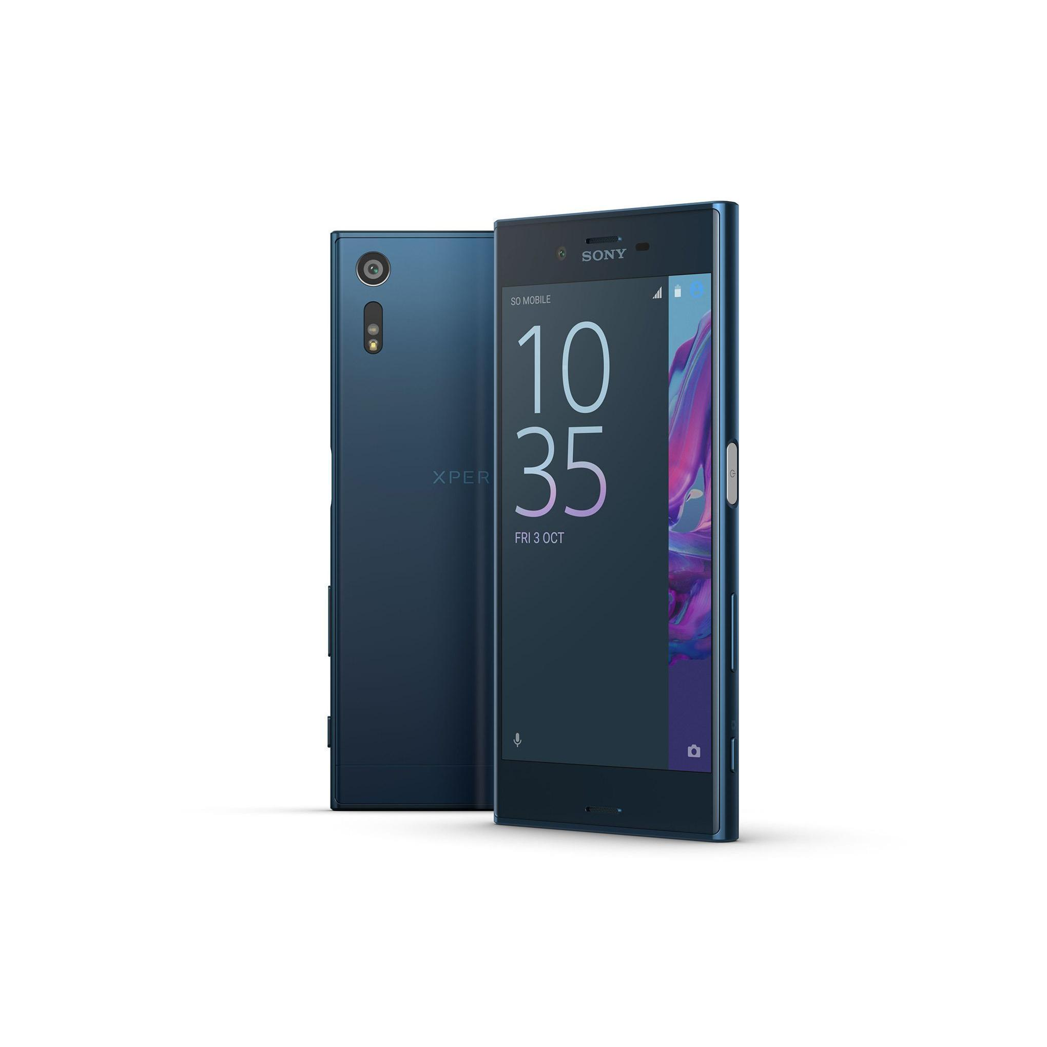 sony xperia xz 32 go bleu d bloqu reconditionn back market. Black Bedroom Furniture Sets. Home Design Ideas