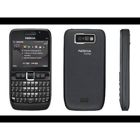 Nokia E63 Noir - Débloqué - QWERTY