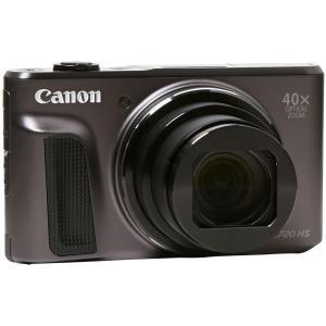 Kompaktikamera - Canon PowerShot SX720 HS - Musta + Canon Zoom Lens 4.3-172mm f/3.3–6.9- Objektiivi