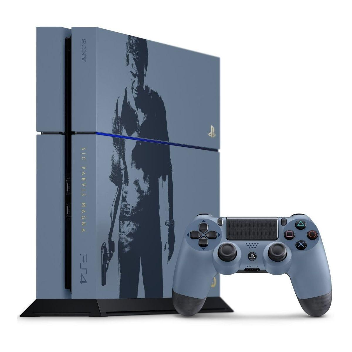 Console Sony PlayStation 4 Uncharted 4: A Thief's End Limited Edition 1TB + Joystick - Grijs