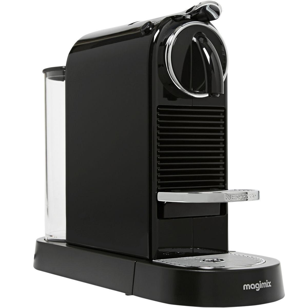 Machine à capsules Nespresso MAGIMIX Citiz 11315 Noir