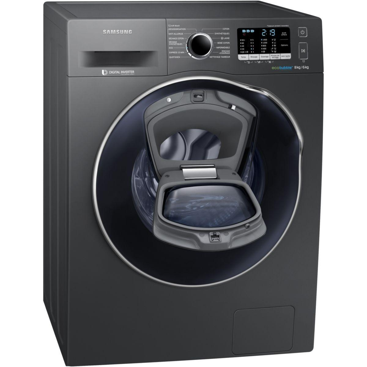 lave linge s chant frontal samsung ex addwash wd80k5410 o reconditionn back market. Black Bedroom Furniture Sets. Home Design Ideas
