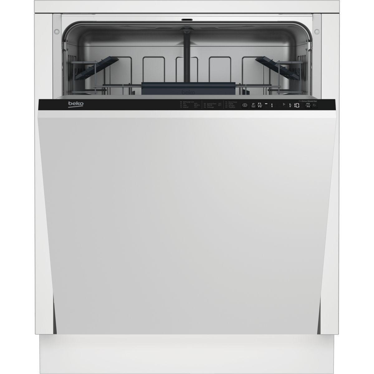 lave vaisselle encastrable 60cm beko lvi62f 13 couverts reconditionn back market. Black Bedroom Furniture Sets. Home Design Ideas