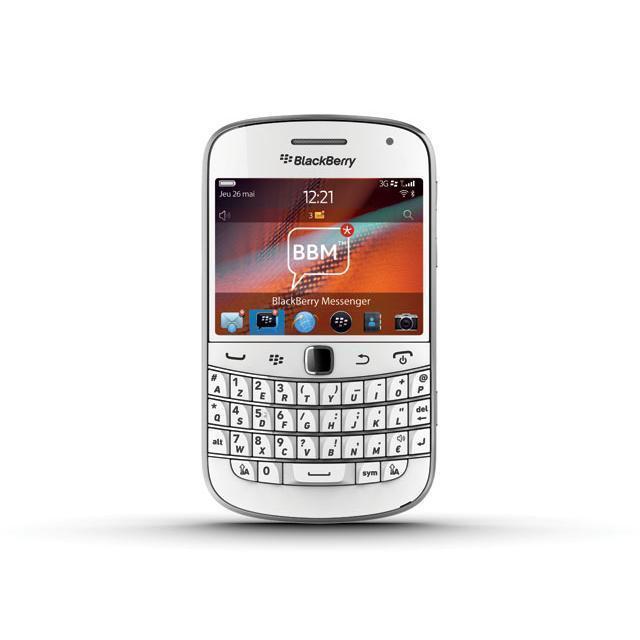BlackBerry Bold Touch 9900 8 Go - Blanc - Débloqué