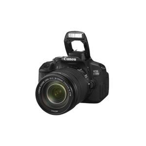 Canon EOS650D-18135 Βιντεοκάμερα - Μαύρο
