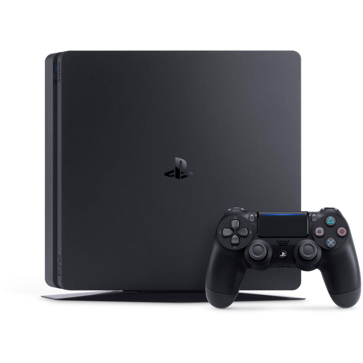 Console Sony Playstation 4 Slim 1To + Manette + Uncharted 4 - Noir