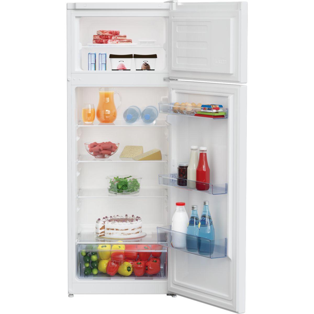 Réfrigérateur congélateur en haut BEKO RDSA240K20W