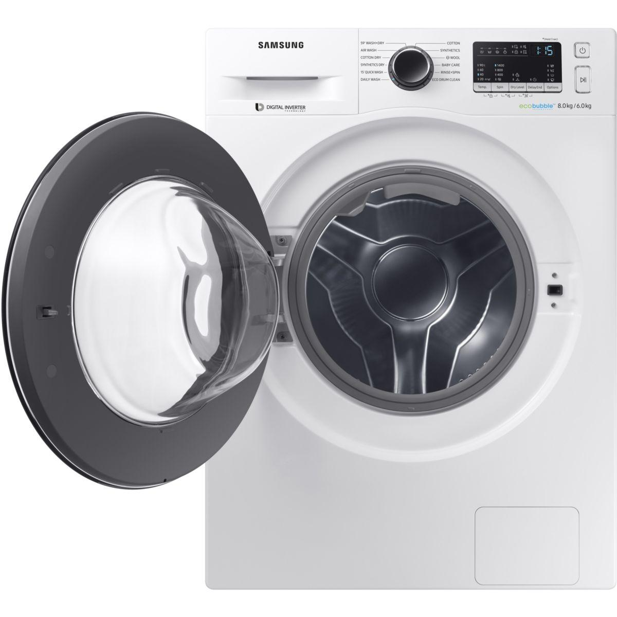 lave linge s chant frontal samsung wd80m4453jw ef reconditionn back market. Black Bedroom Furniture Sets. Home Design Ideas