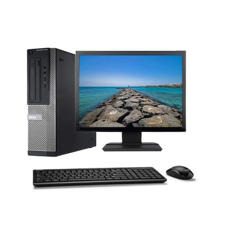 "Dell Optiplex 3010 DT 19"" Core i3 3,3 GHz - SSD 240 Go - 4 Go"