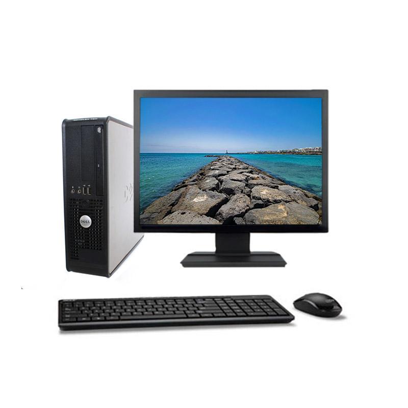 """Dell OptiPlex 380 SFF 22"""" Pentium 2,5 GHz - SSD 480 Go - 2 Go"""