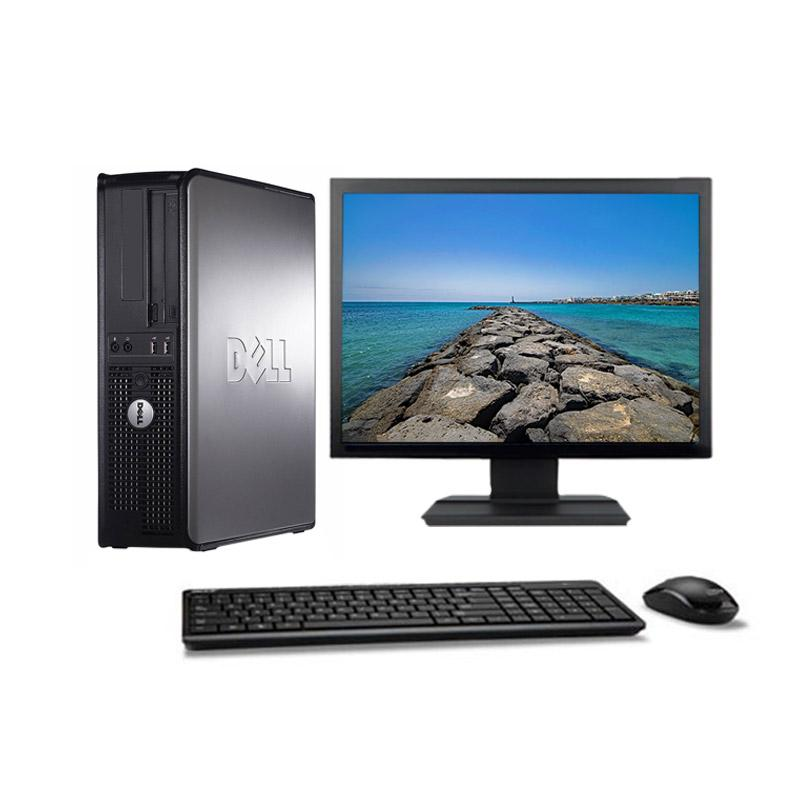 "Dell OptiPlex 780 DT 19"" Pentium 2,5 GHz - HDD 500 Go - 16 Go"