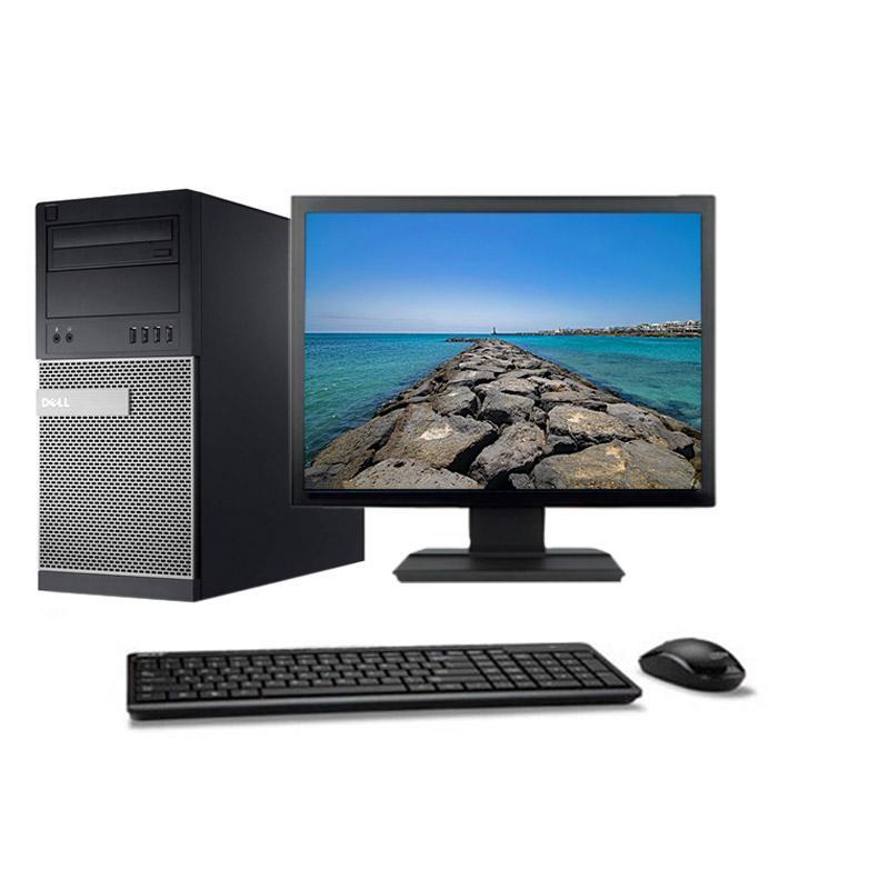 """Dell OptiPlex 790 MT 19"""" Core i5 3,2 GHz - SSD 480 Go - 8GB"""