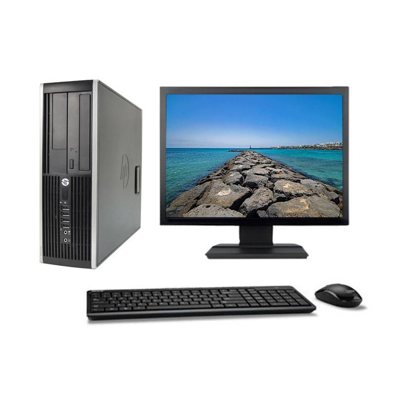 """Hp Compaq Elite 6000 Pro SFF 19"""" Pentium 2,7 GHz - HDD 500 Go - 8 Go"""