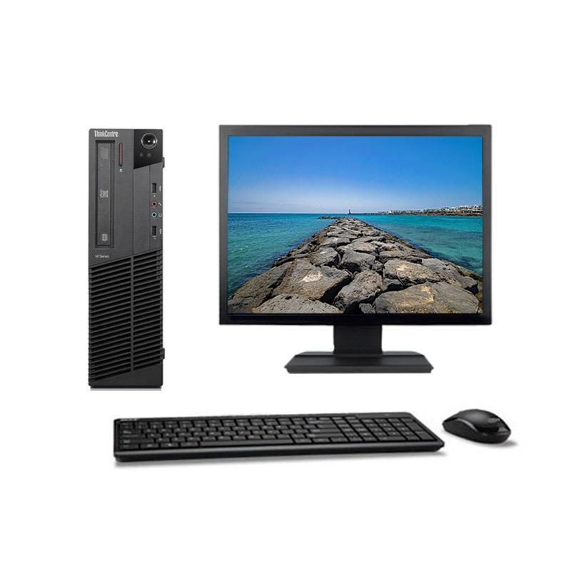 "Lenovo ThinkCentre M91P 7005 SFF 19"" Pentium 2,7 GHz - HDD 2 To - 8 Go"