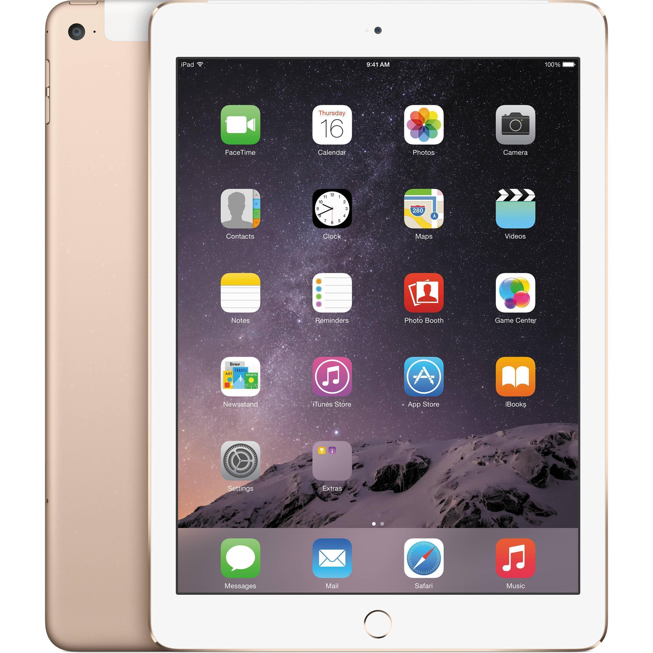 iPad Air 2 128GB - LTE + WLAN - Gold - Ohne Vertrag