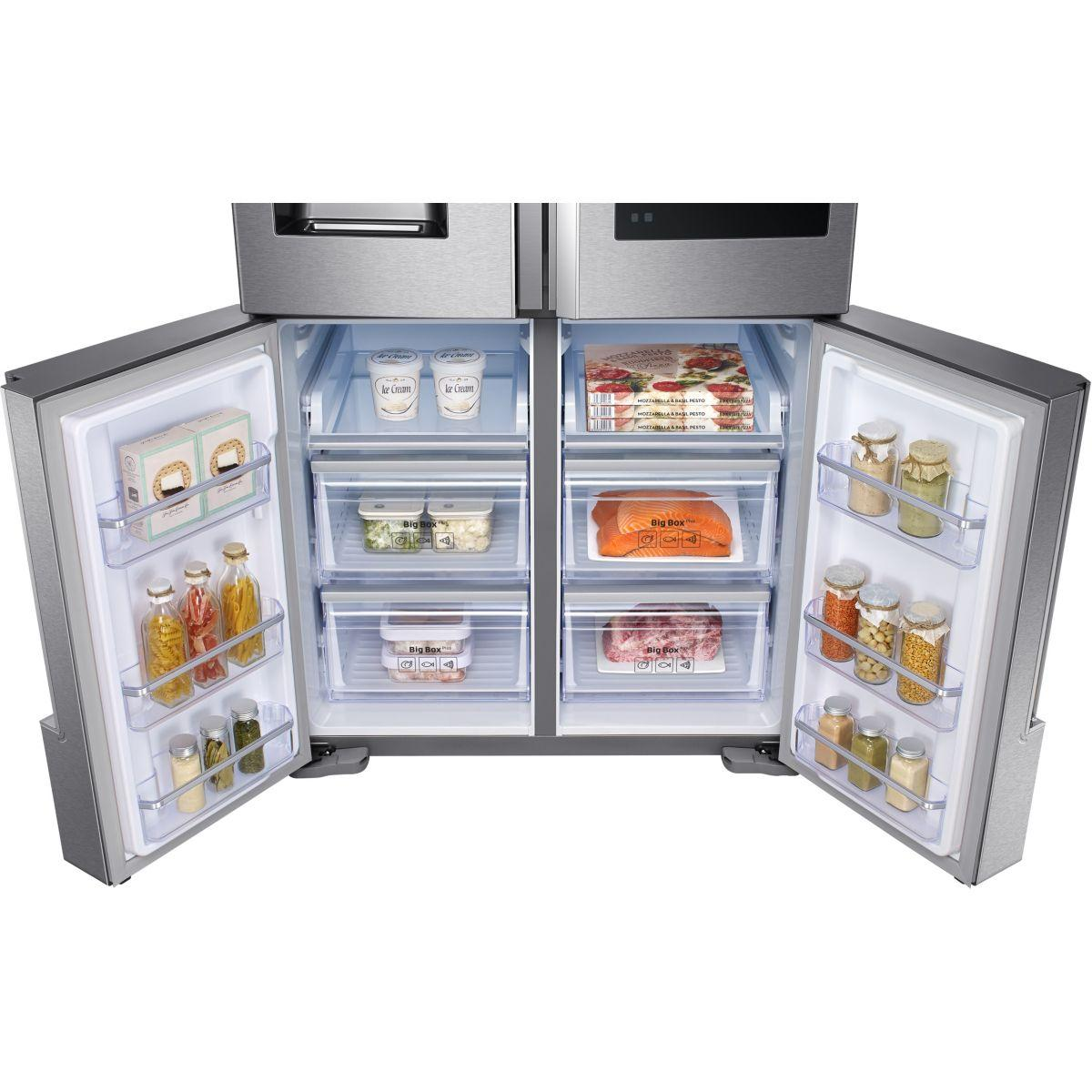 Réfrigérateur Multiportes SAMSUNG RFMSR Family Hub - Refrigerateur multi portes samsung