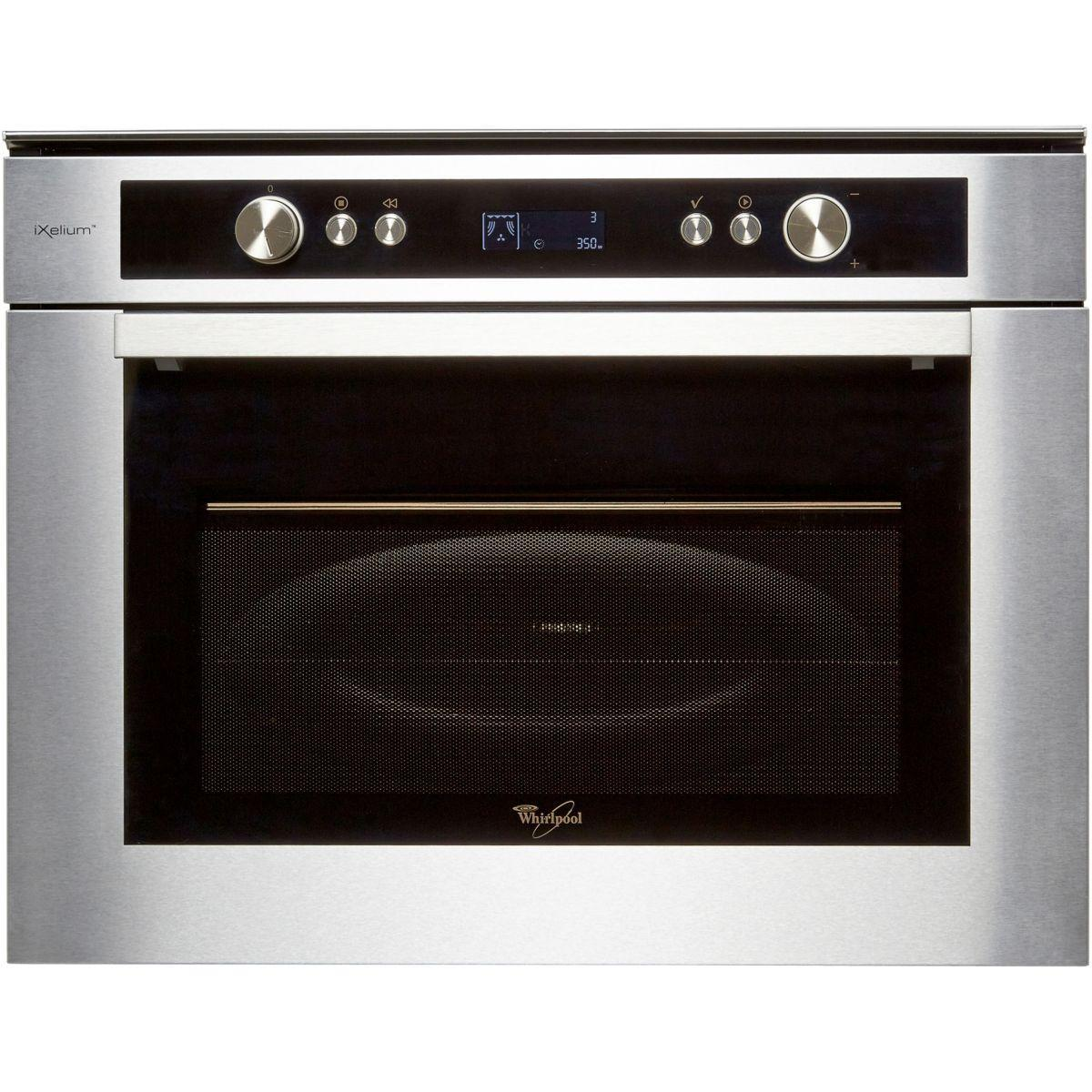 micro-ondes grill + four whirlpool amw835ixl reconditionné | back market