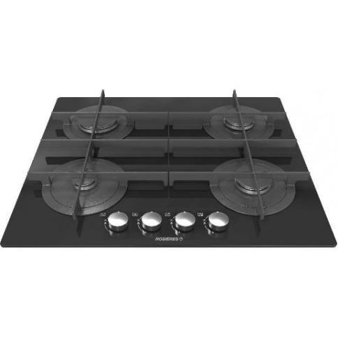 Table de cuisson - Gaz 4 foyers -  ROSIERES RGV64TFM PN