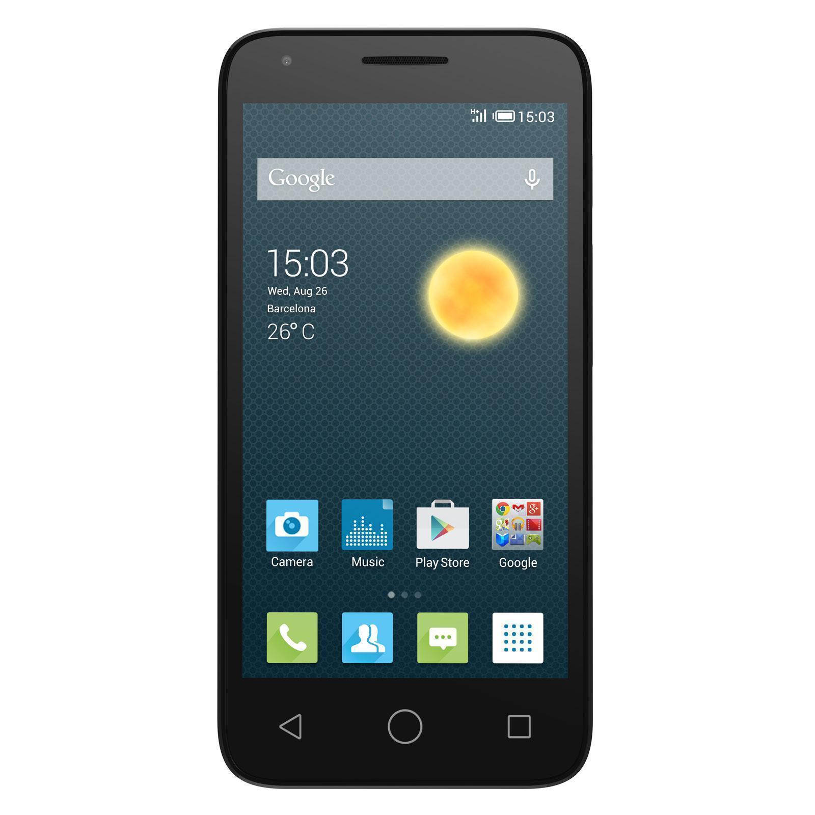 Alcatel One Touch Pixi 3 8 Go - Noir - Débloqué