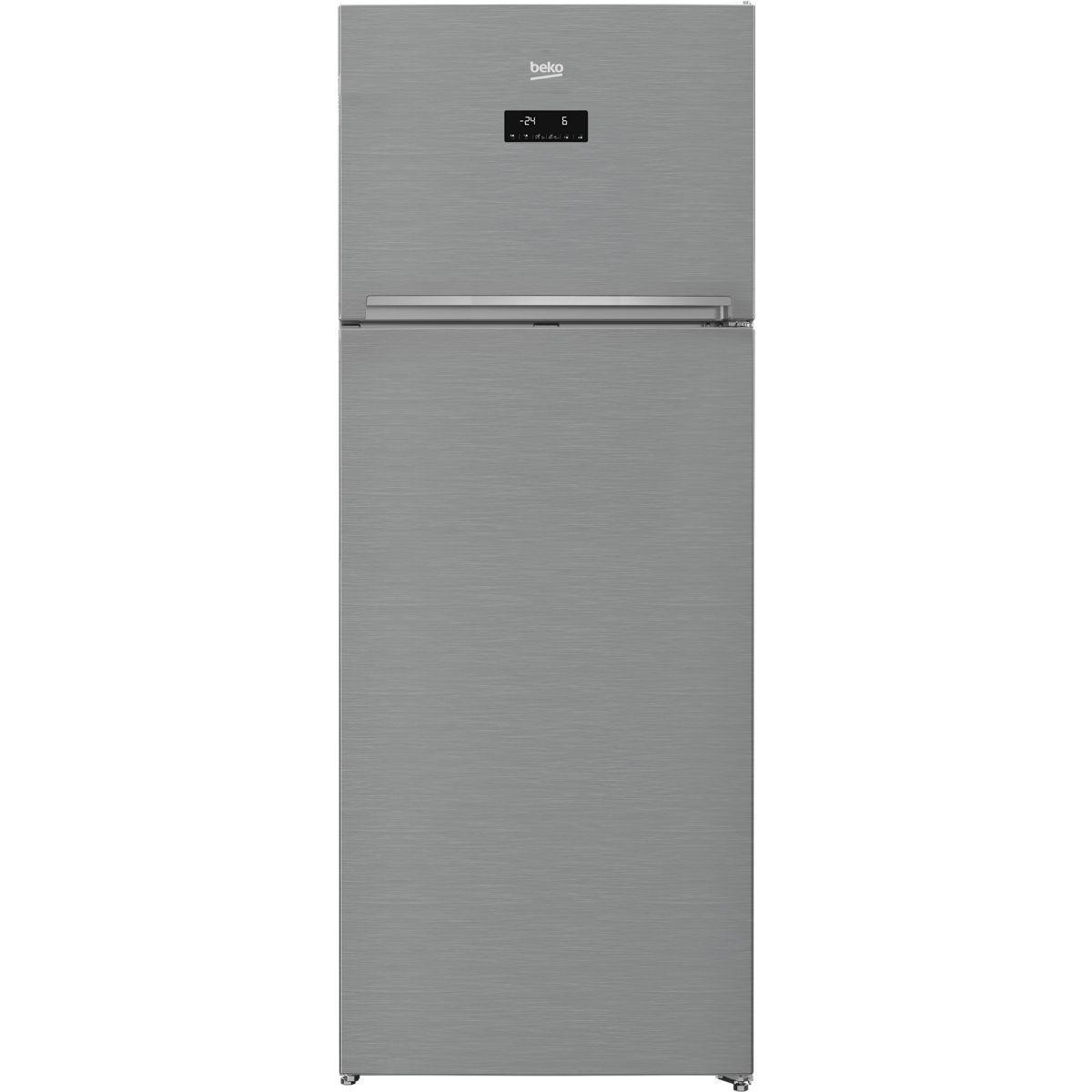 réfrigérateur congélateur en haut beko rdne535e20zx reconditionné
