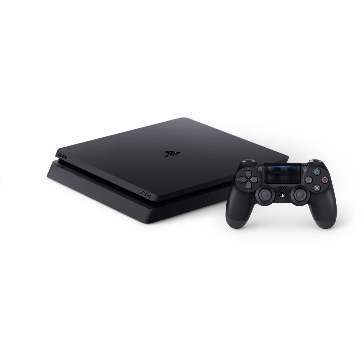 PlayStation 4 Slim - HDD 500 GB - Negro