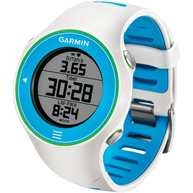 Montre cadio GARMIN Forerunner 610 - Blanc/bleu