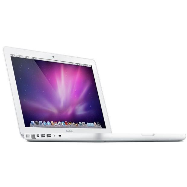 """MacBook 13"""" Core 2 Duo 2,26 GHz  - HDD 250 Go - RAM 4 Go - QWERTY"""