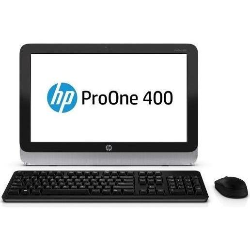 """Hp ProOne 400 G1 19"""" Core i3 4130T 2,9 GHz  - HDD 500 Go - RAM 4 Go"""