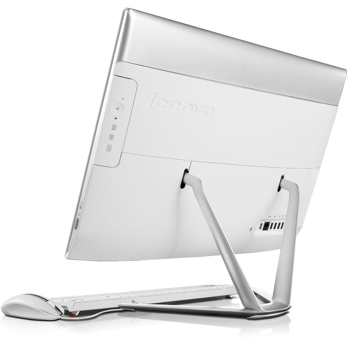 "Lenovo De bureau 23,00"" Intel  GHz  - HDD 4 Go - RAM 4 Go"