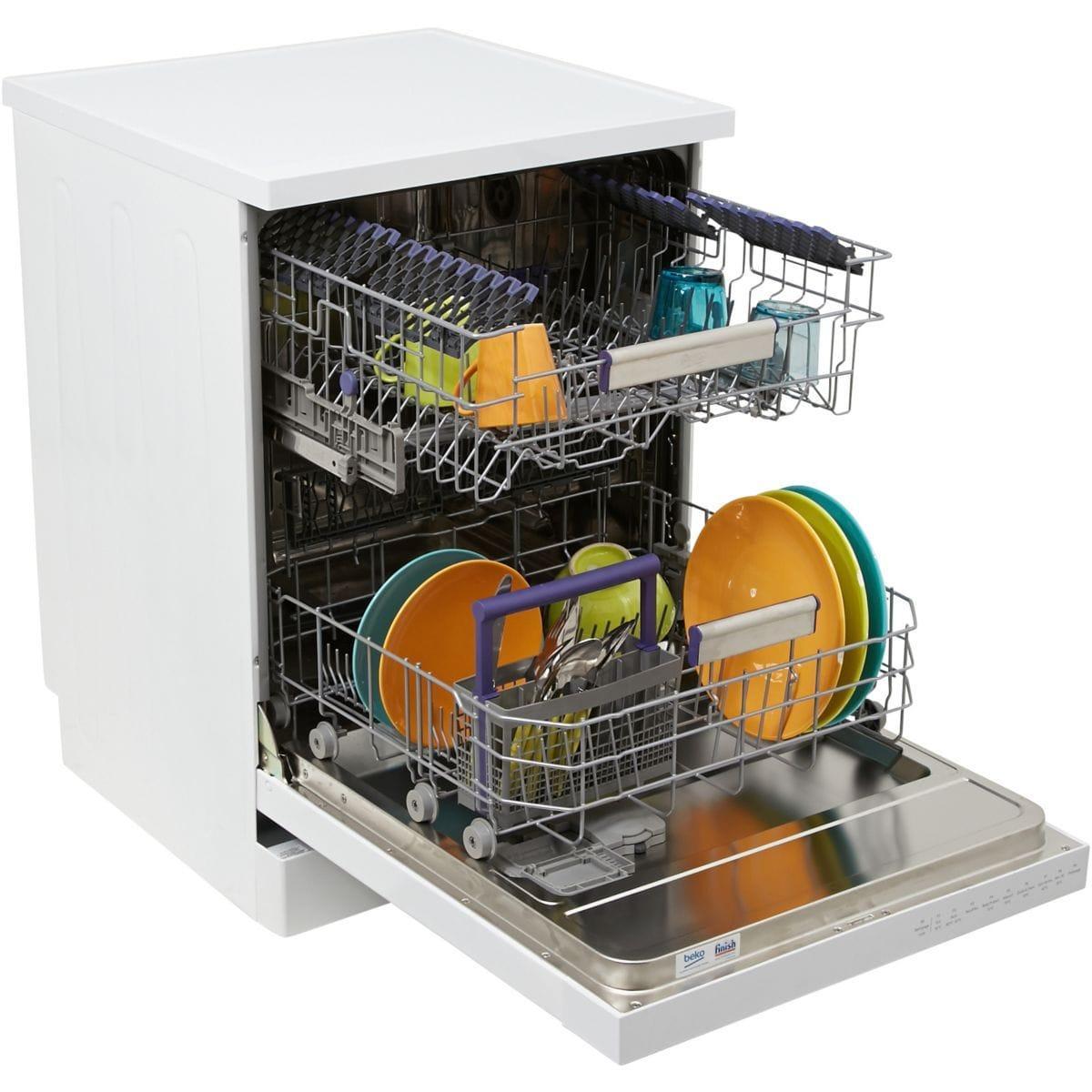 Lave-vaisselle 60cm BEKO DFN39431W - 14 couverts