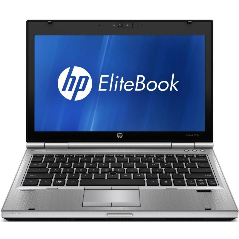 """Hp EliteBook 2560p 12"""" Core i5 2,6 GHz  - HDD 320 GB - 4GB AZERTY - Französisch"""