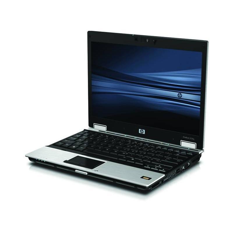 """HP Elitebook 2530p 12"""" Core 2 Duo 1,86 GHz - HDD 80 GB - 2GB AZERTY - Französisch"""