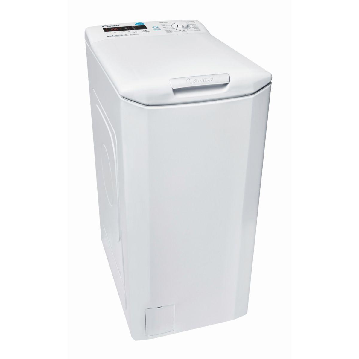 Lave-linge Top connecté CANDY TSC G282-47