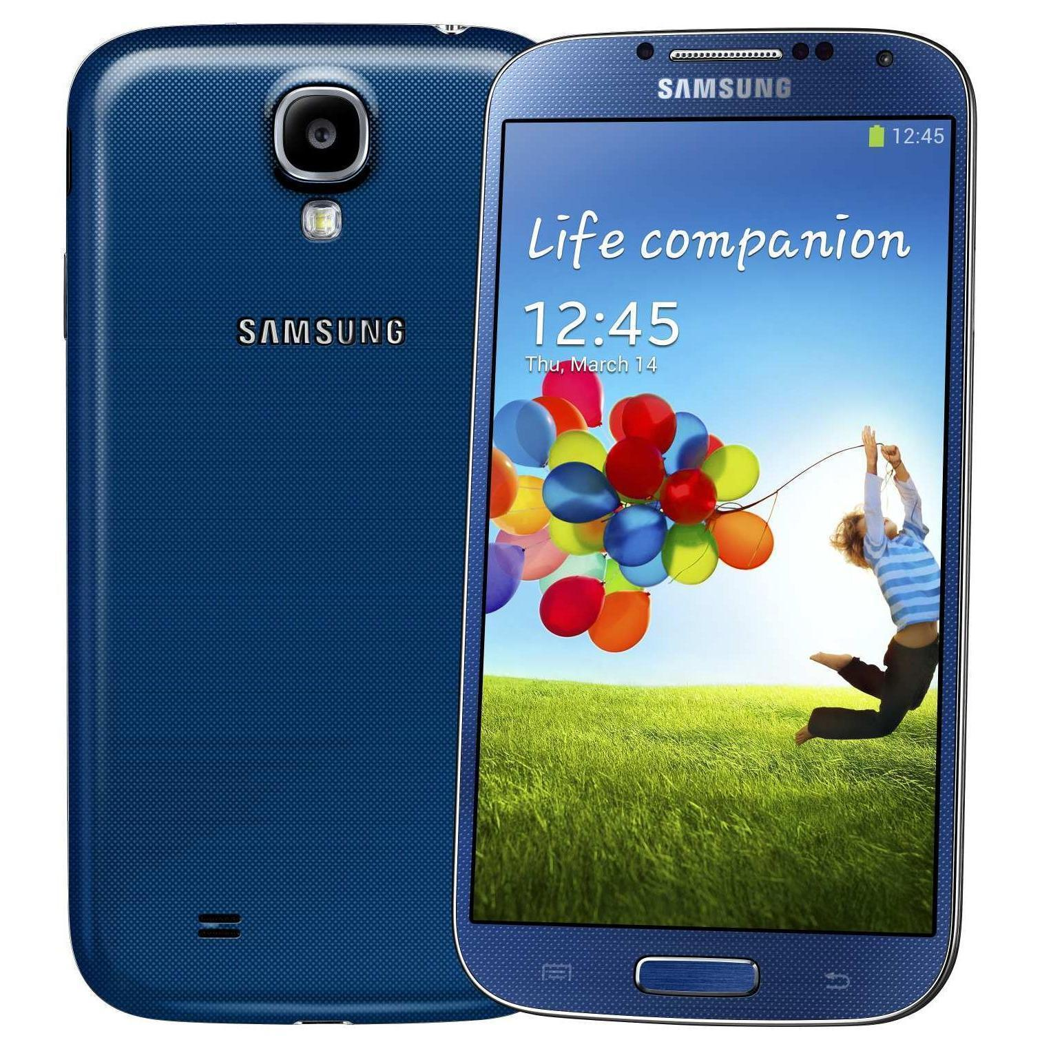 Samsung Galaxy S4 16 Go - Bleu - Débloqué