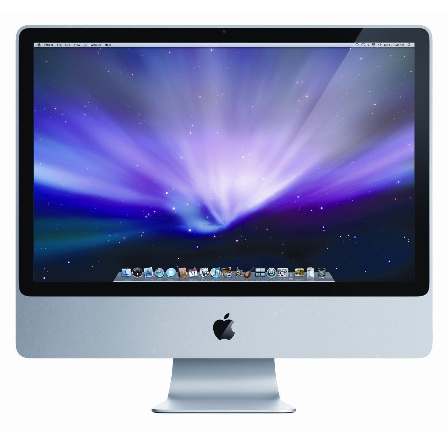 "iMac 24"" Core 2 Duo 2.8 GHz  - HDD 320 Go - RAM 4 Go - QWERTY"
