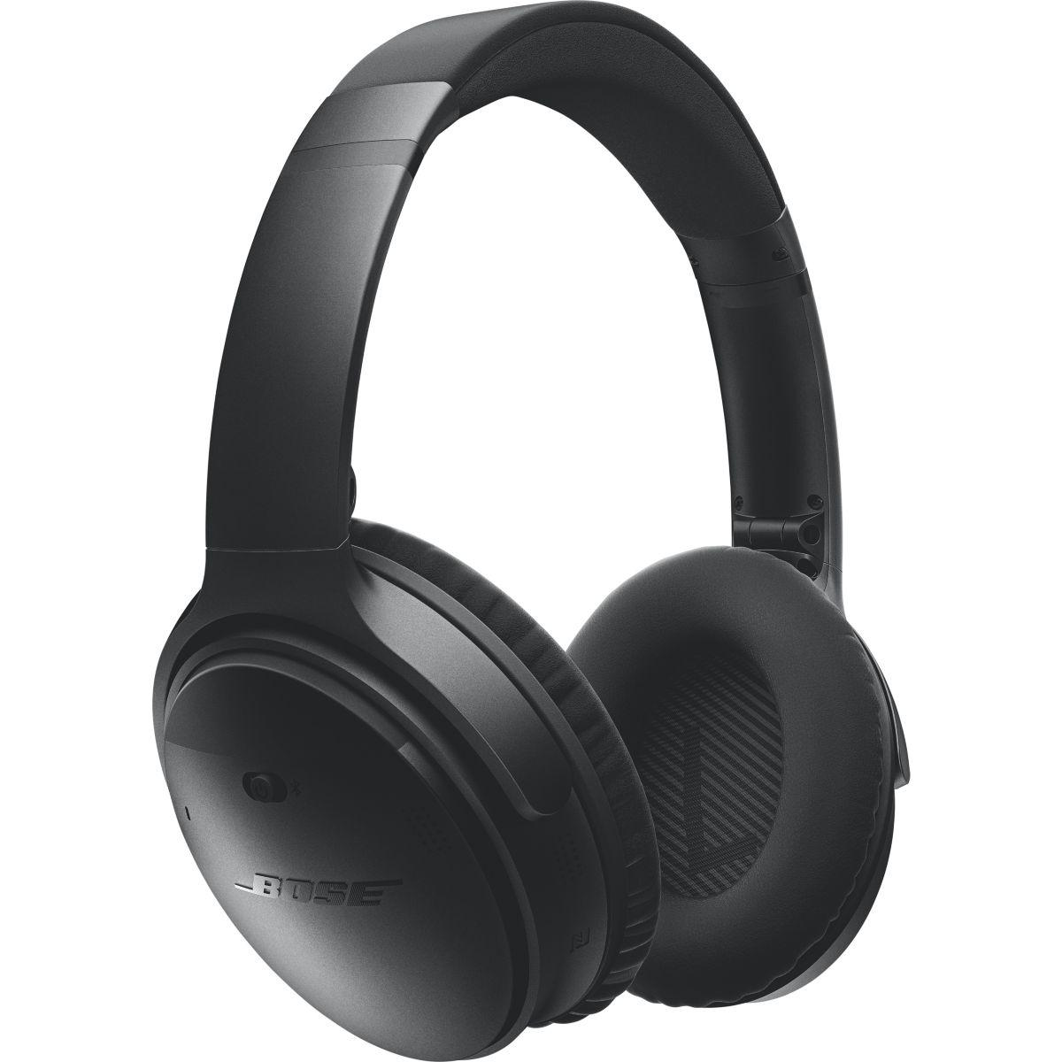 Kopfhörer Rauschunterdrückung Bluetooth Bose QC 35 - Schwarz