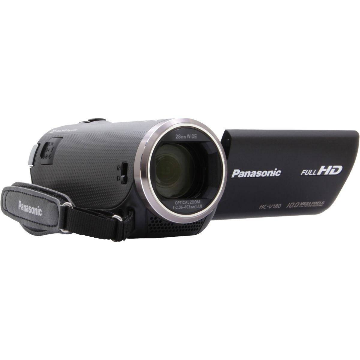 Videocamere Panasonic HC-V180 Nero